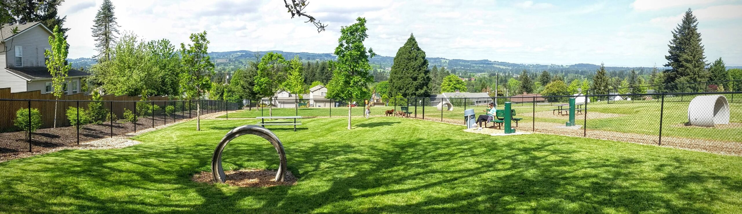 park in Sherwood, Oregon