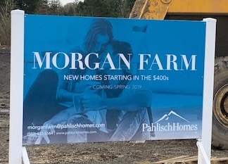 Morgan Farm new homes